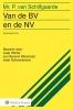 P. van Schilfgaarde,Van de BV en de NV