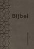 ,Bijbel (SV) met psalmen (ritmisch) - taupe