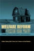 Summers, Gene F.,Welfare Reform in Persistent Rural Poverty