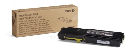 , Tonercartridge Xerox 106R02231 geel