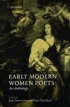Jane Stevenson,   Peter Davidson Early Modern Women Poets