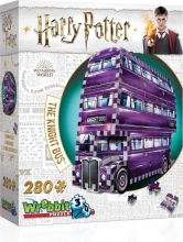 W3d-0507,Wrebbit 3d puzzle - happy potter - the night bus - 280