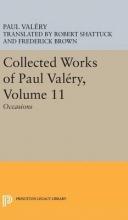 Paul Valery,   Jackson Mathews Collected Works of Paul Valery, Volume 11