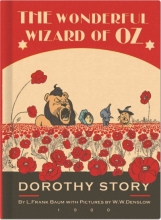 The Wonderful Wizard of Oz Vintage Galore Collection Lined Notebook