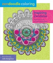 Inspiring Zendalas Adult Coloring Book