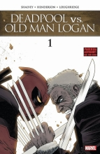 Declan Shalvey,   Mike Henderson Deadpool Vs. Old Man Logan