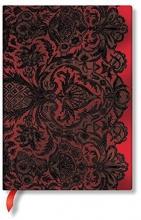 Paperblanks Rouge Boudoir Lined Midi