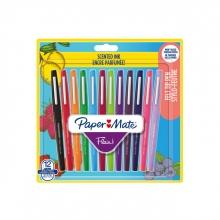 , Fineliner Paper Mate Flair met geur blister à 12 kleuren