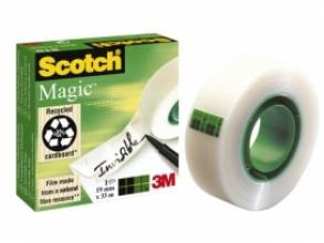 , Plakband Scotch Magic 810 19mmx33m onzichtbaar mat