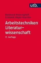 Moennighoff, Burkhard Arbeitstechniken Literaturwissenschaft