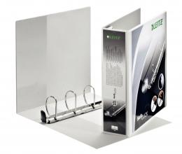, Presentatieringband Leitz SoftClick A4 Maxi 4-rings D-mech 60mm wit