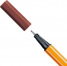 , Stabilo fineliner pen 88 kleur 78 lichtbruin