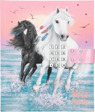 , Miss melody dagboek met geheime code en muziek