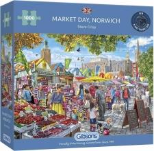 Gib-g6297 , Puzzel market day, norwich gibsons 1000 stuks