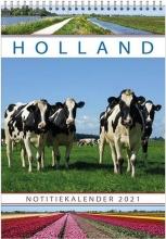 , Maand notitiekalender 2021 holland23.5x33.5