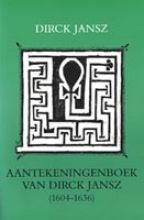 Jansz Aantekeningenboek van dirck jansz
