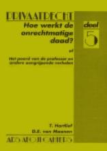 G.E. van Maanen Ton Hartlief, Hoe werkt de onrechtmatige daad?