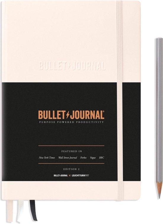 Lt363573,Leuchtturm bulletjournal 145x210 ed 2021 powder 206 blz