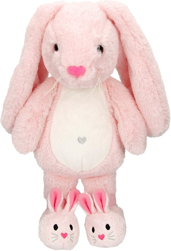 ,Princess mimi, knuffel nelly, 40 cm, lichtroze
