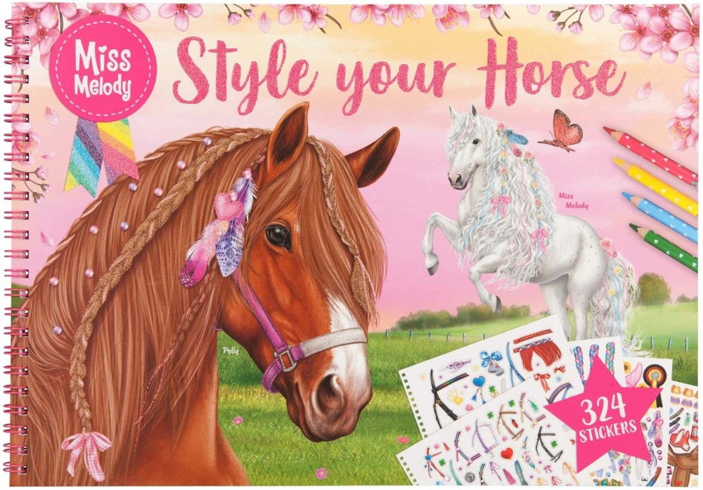 ,Miss melody style your horse