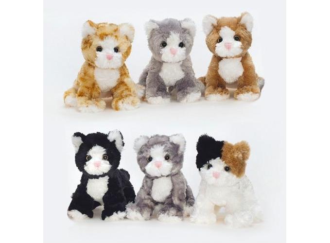 ,Mischievous cats assorti - knuffel - pluche