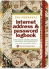 ,<b>Old World Internet Address & Password Logbook</b>