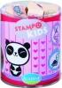Ala-03347 , Stampo kids kawai dieren stempels