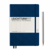 <b>Lt342925</b>,Leuchtturm notitieboek medium 145x210 dots / bullets marineblauw