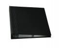 , visitekaartmap Sigel A4 zwart voor 400 visitekaarten tot    90x58mm