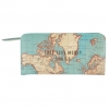 <b>Vintage Map Take Your Money & Go Portemonnee</b>,
