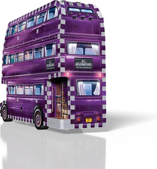 W3d-0507,Wrebbit 3d puzzle - happy potter - the night bus - 280