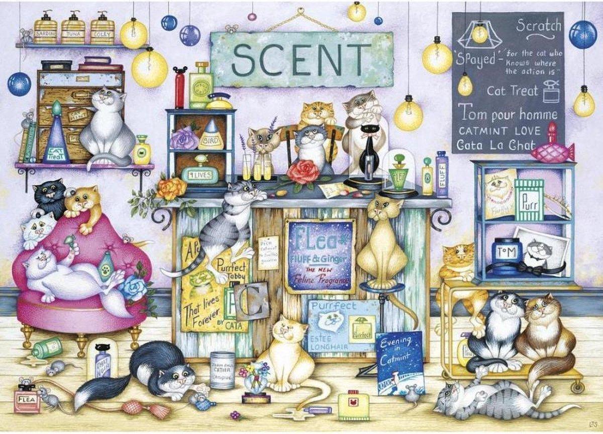 Gib-g8287,Puzzel scent -gibsons -1000 stuks