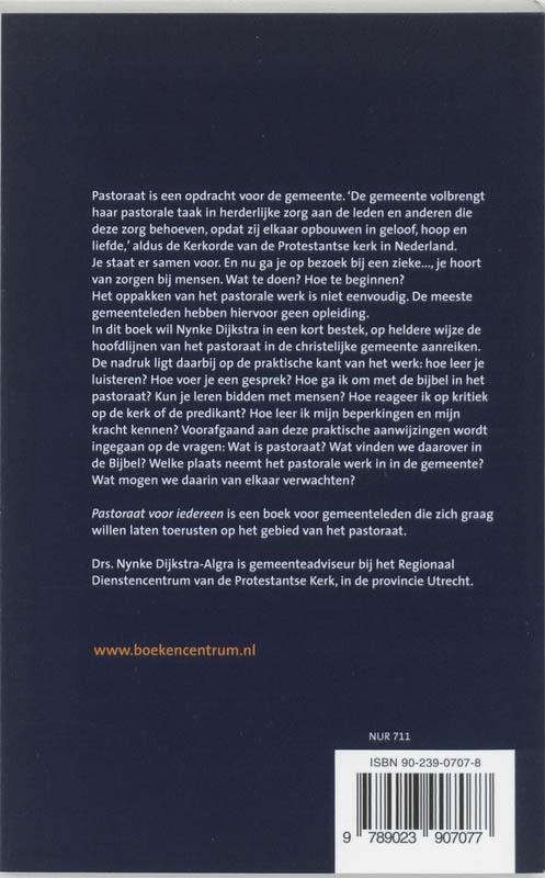 Nynke Dijkstra-Algra,Pastoraat voor iedereen