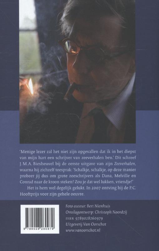 J.M.A. Biesheuvel,Zeeverhalen
