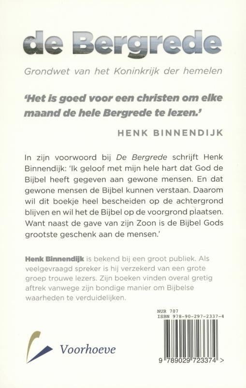 Henk Binnendijk,De bergrede