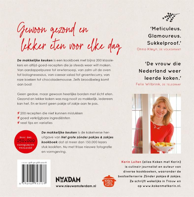 Karin Luiten,De makkelijke keuken