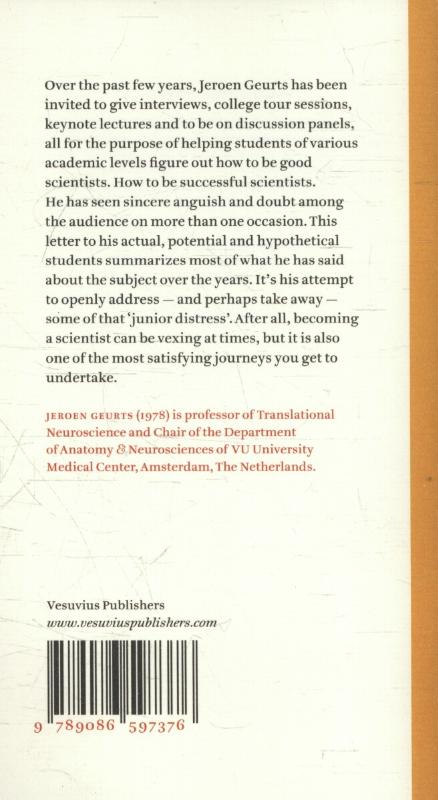 Jeroen J.G. Geurts,Letter to my students