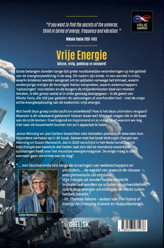 Jeanne Manning, Joel Garbon,Vrije Energie