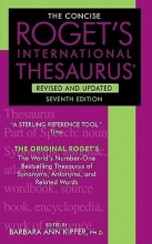 The Concise Roget`s International Thesaurus