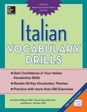 Stillman, David M., Ph.D.,   Cherubini, Tiziano,   Gordon, Ronni L., Ph.D. Italian Vocabulary Drills