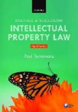 Torremans, Paul Holyoak and Torremans Intellectual Property Law