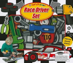 Priddy, Roger Let`s Pretend Race Driver Set