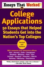 Curry, Boykin,   Kasbar, Brian Essays That Worked for College Applications