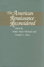Michaels, The American Renaissance Reconsidered