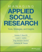 Russ-Eft, Darlene Managing Applied Social Research