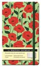 Floral Poppy Journal