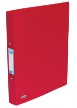 , Ringband  Elba Urban A4 2-rings O-mech 30mm rood
