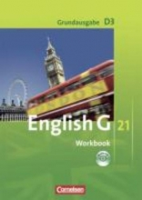 Schwarz, Hellmut English G 21. Grundausgabe D 3. Workbook mit Audios online