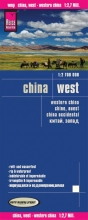, Reise Know-How Landkarte China, West  1 : 2.700.000
