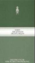Dickinson, Emily Dichtungen